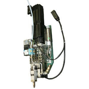 Pump application head